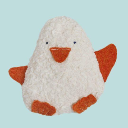 Doudou hochet Pingouin Efie