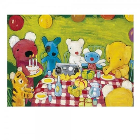 Puzzle en bois 12 pièces - Michèle Wilson
