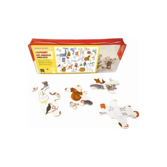 Puzzle en bois 12 pièces - 7 modèles - Michèle Wilson