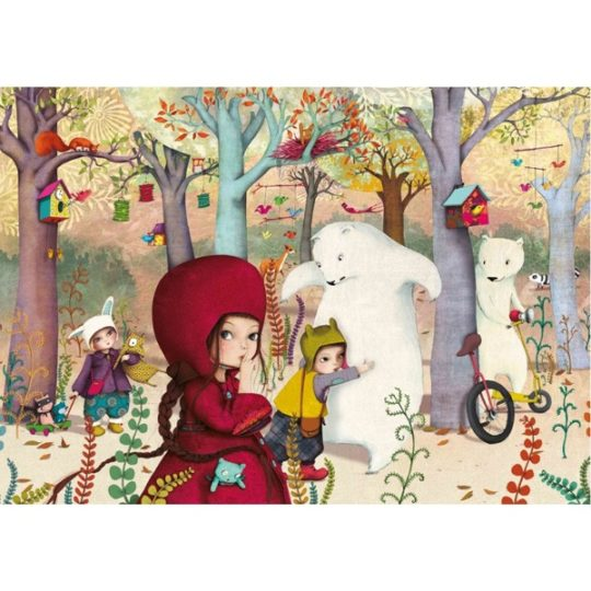 Puzzle en bois 24 pièces - Michèle Wilson