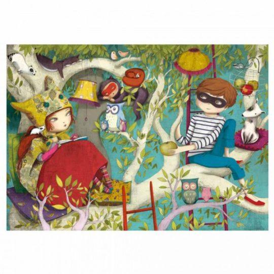 Puzzle en bois 50 pièces - Michèle Wilson