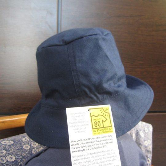 Chapeau réversible en coton biologique anti-UV - Pickapooh