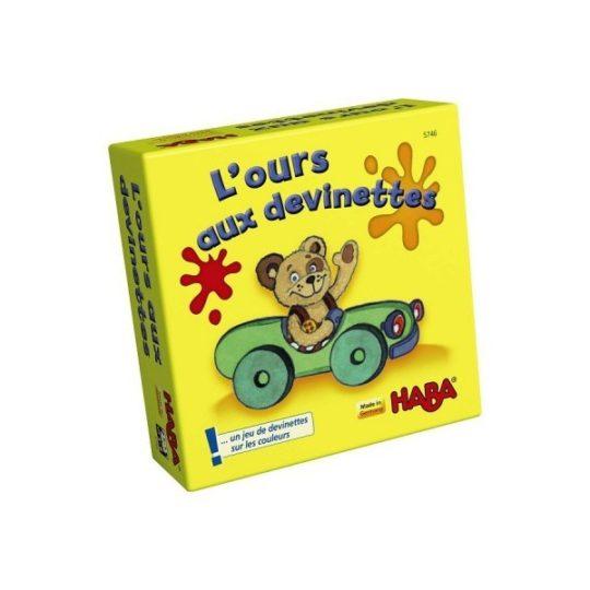 L'ours aux devinettes - mini format - Haba