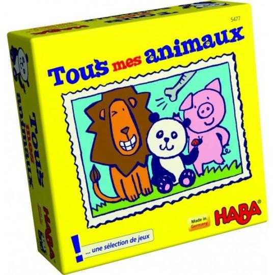 Tous mes animaux - mini format - Haba