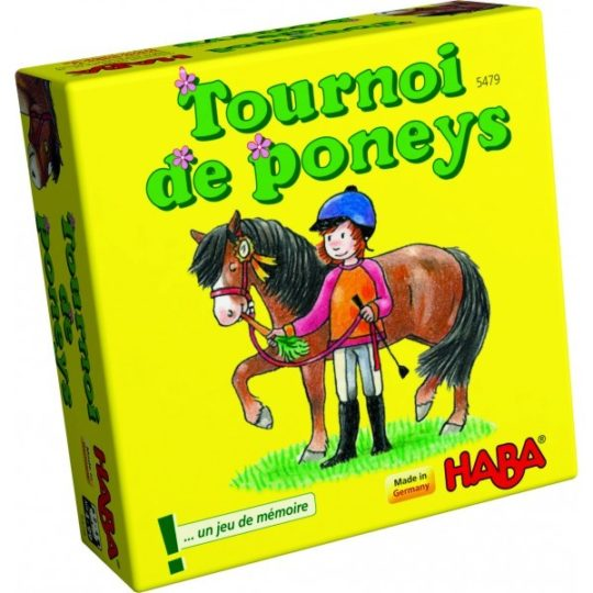 Tournoi de poneys - mini format - Haba