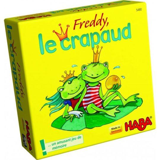 Freddy, le crapaud - mini format - Haba