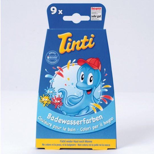 Couleurs pour le bain - boîte de 9 - Tinti