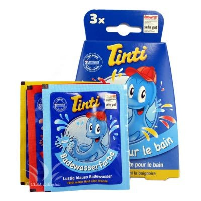 Couleurs pour le bain - boîte de 3 - Tinti