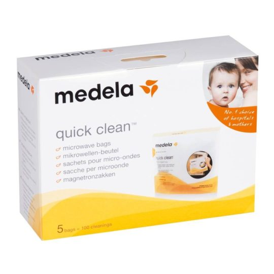 Sachets pour micro-ondes Quick Clean - Medela
